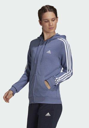 ESSENTIALS FRENCH TERRY  - Zip-up sweatshirt - purple