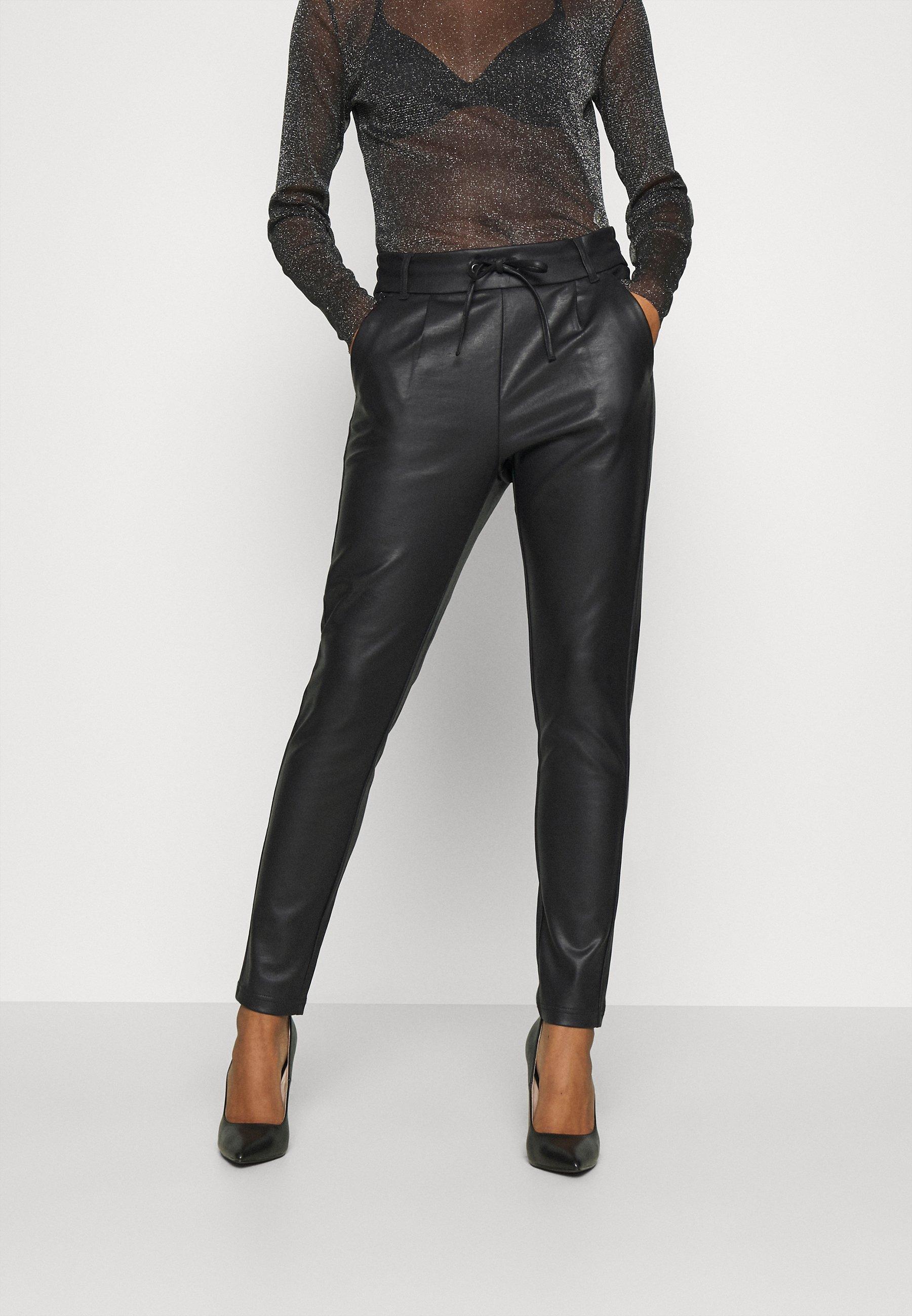 Mujer ONLPOPTRASH EASY COATED - Pantalones deportivos