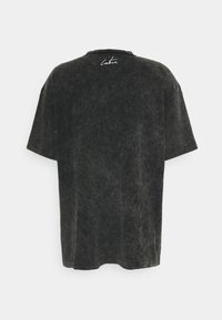 The Couture Club - WAVE GRAPHIC - Print T-shirt - black enzyme wash - 1