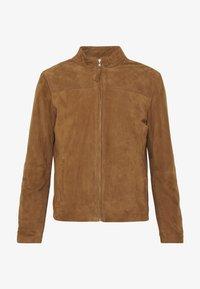 Serge Pariente - SYLVINO - Leather jacket - cognac - 4