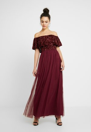 KENDALL - Vestido de fiesta - berry