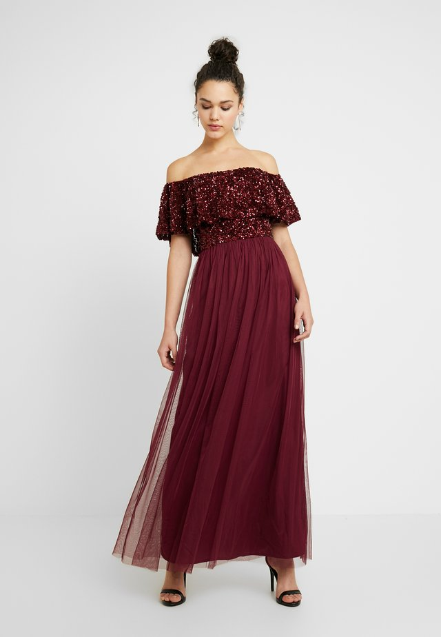 KENDALL - Robe de cocktail - berry