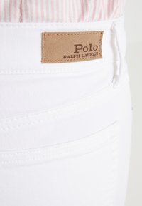 Polo Ralph Lauren - LEAH WASH - Jeansy Skinny Fit - white - 5