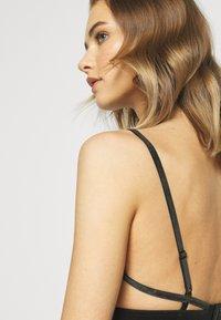Weekday - POLLY SOFT BRA - Triangle bra - black - 3