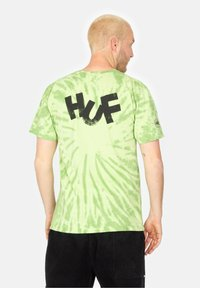 HUF - HAZE BRUSH - Print T-shirt - lime - 1