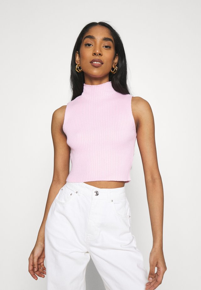 CARE CROP  - Topper - baby pink
