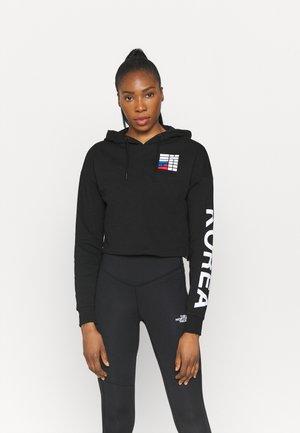 IC HOODIE - Sweatshirts - black