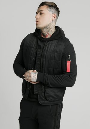 FARMERS GILET - Bodywarmer - black