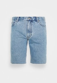 SUNDAY  - Jeans Short / cowboy shorts - pen blue