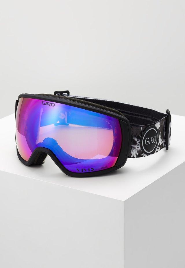 FACET - Ski goggles - black/purple