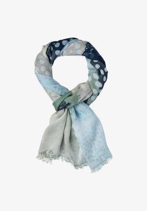 STYLE JANINE - Sjaal - sand/blue/green