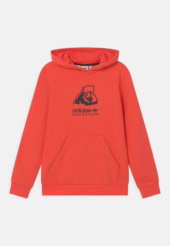 HOODIE UNISEX - Sweatshirt - bright red