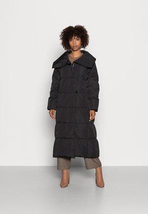 CIYA BOXY COAT - Winter coat - black
