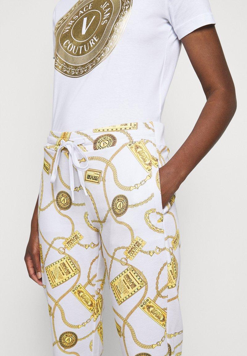 Versace Jeans Couture - Spodnie treningowe - white