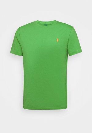 Jednoduché triko - neon green