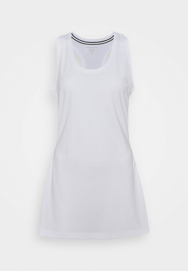 TESS DRESS - Vestido de deporte - brilliant white
