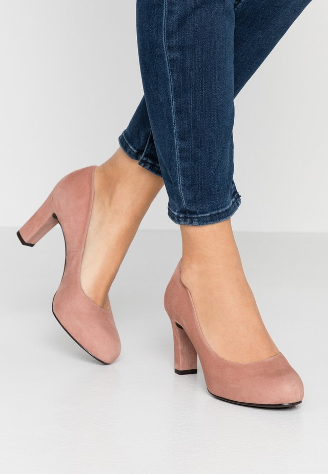 NUMIS CLASSIC - Plateaupumps - old pink