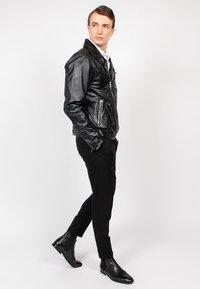 Freaky Nation - BLACK SELECT - Leather jacket - black - 4