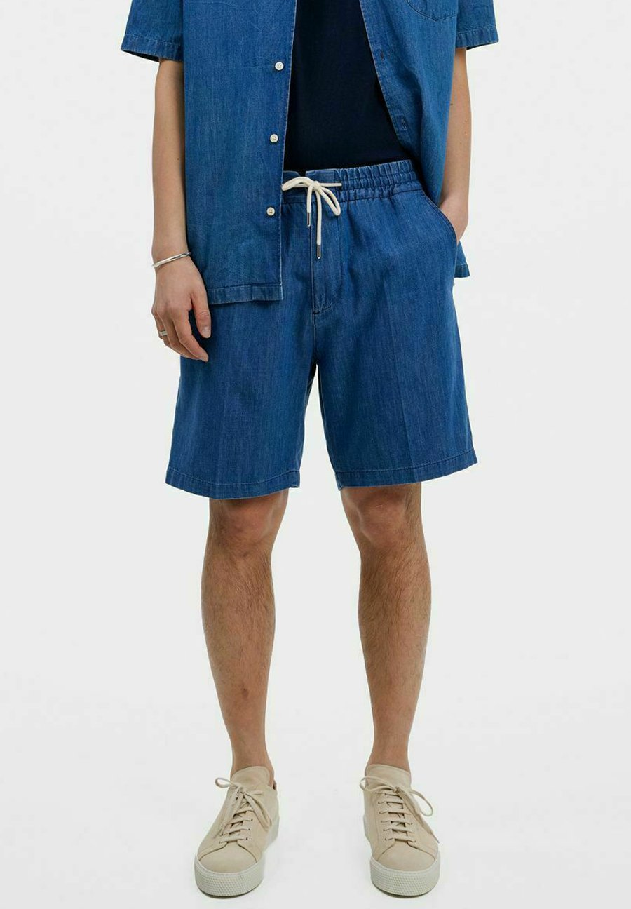 Uomo SHORTS EARL INDIGO - Shorts di jeans