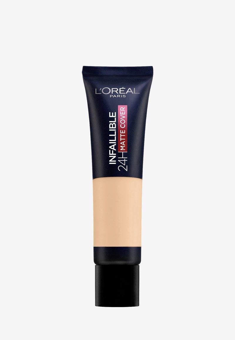 L'Oréal Paris - INFAILLIBLE 24H MATTE COVER - Foundation - 130 beige peau/true beige