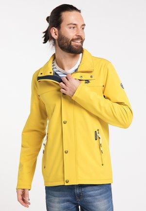 Outdoor jacket - mustard melange
