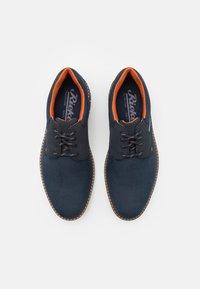 Rieker - Šněrovací boty - blau - 3