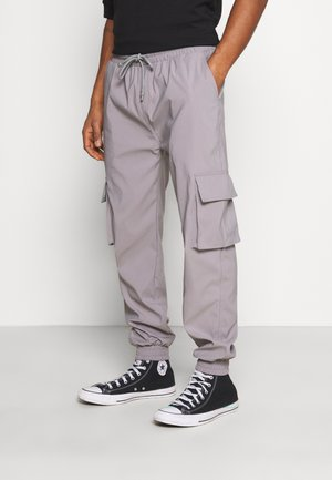 PANTS - Cargo trousers - grey