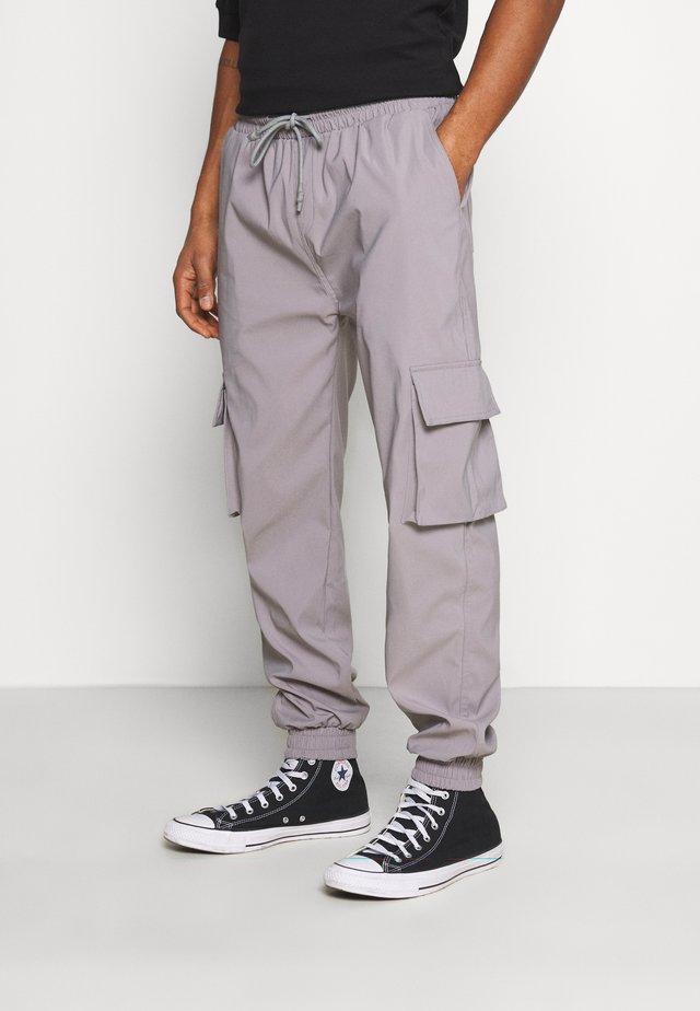 PANTS - Cargobroek - grey