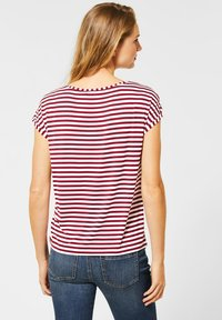 Street One - Print T-shirt - rot - 1