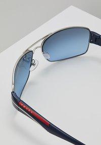 Prada Linea Rossa - Sunglasses - silver - 2