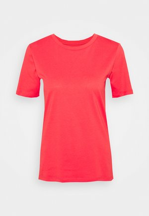 CREW - T-shirts basic - coral