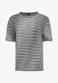 Missoni - SHORT SLEEVE - T-shirt z nadrukiem - black - 3