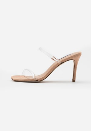 LATEST  - Pantolette hoch - clear