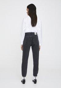PULL&BEAR - Slim fit jeans - mottled dark grey - 2