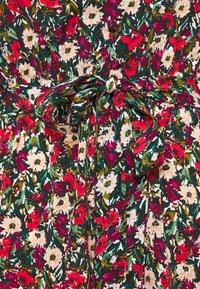 New Look Tall - ELLA FLORAL WRAP TEA DRESS - Day dress - black pattern - 2