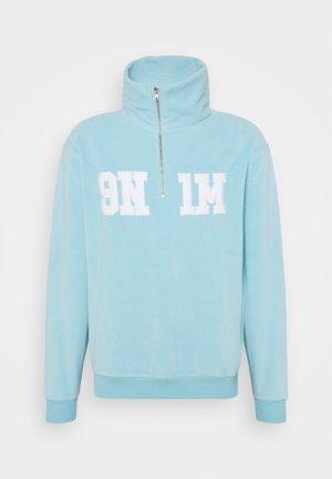 HALF ZIP UP UNISEX - Sweatshirt - skyblue