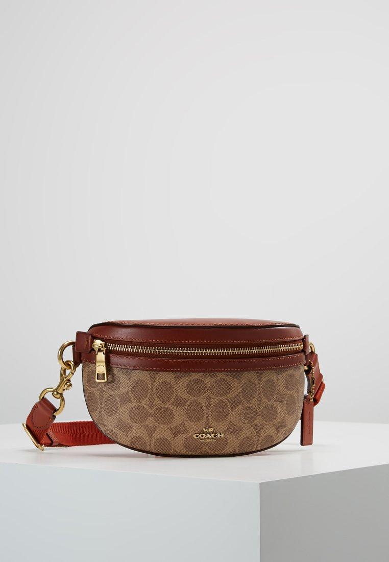 Women COATED SIGNATURE FANNY PACK - Bum bag