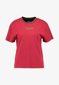Kickers Classics - BOY TEE WITH TRIM - T-shirt imprimé - red - 3