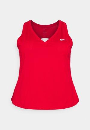 VICTORY TANK PLUS - T-shirt sportiva - university red/white