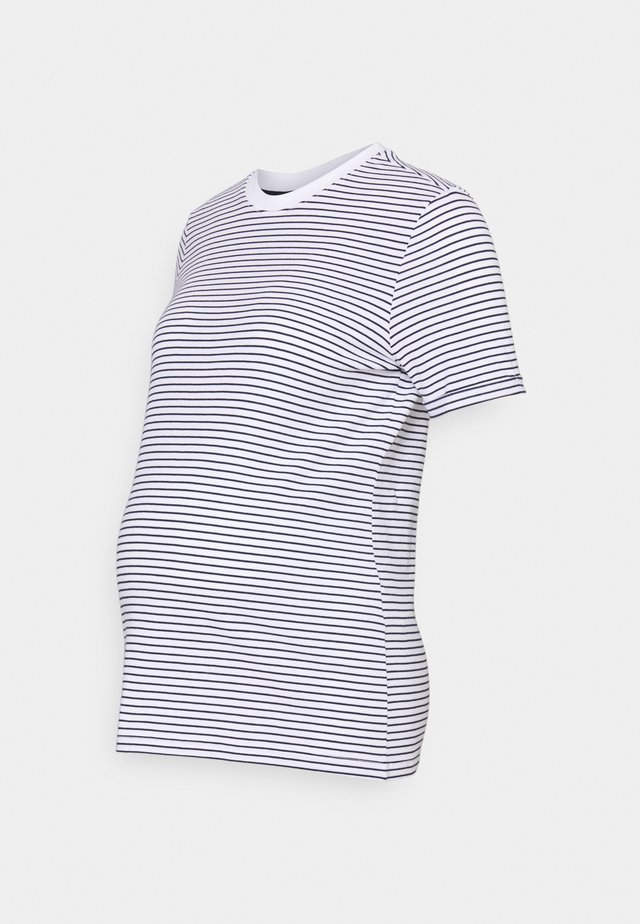 PCMRIA FOLD UP - T-shirts print - bright white/martime blue