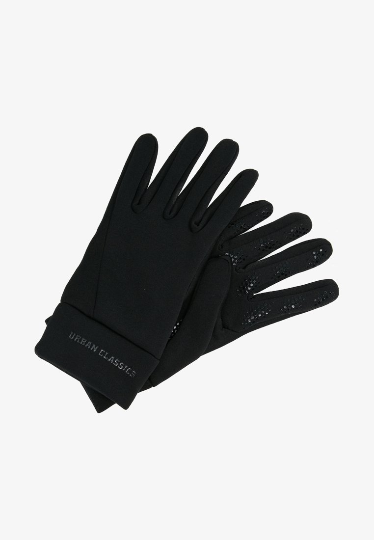 Urban Classics - FUNCTIONAL GLOVES - Gloves - black