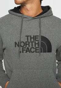 The North Face - DREW PEAK - Hoodie - medium grey heather/black - 4