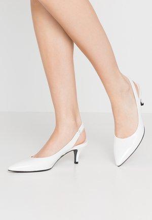 SELMA - Classic heels - bianco