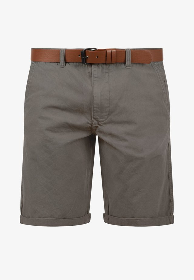 CHINOSHORTS MONTIJO - Shorts - mid grey
