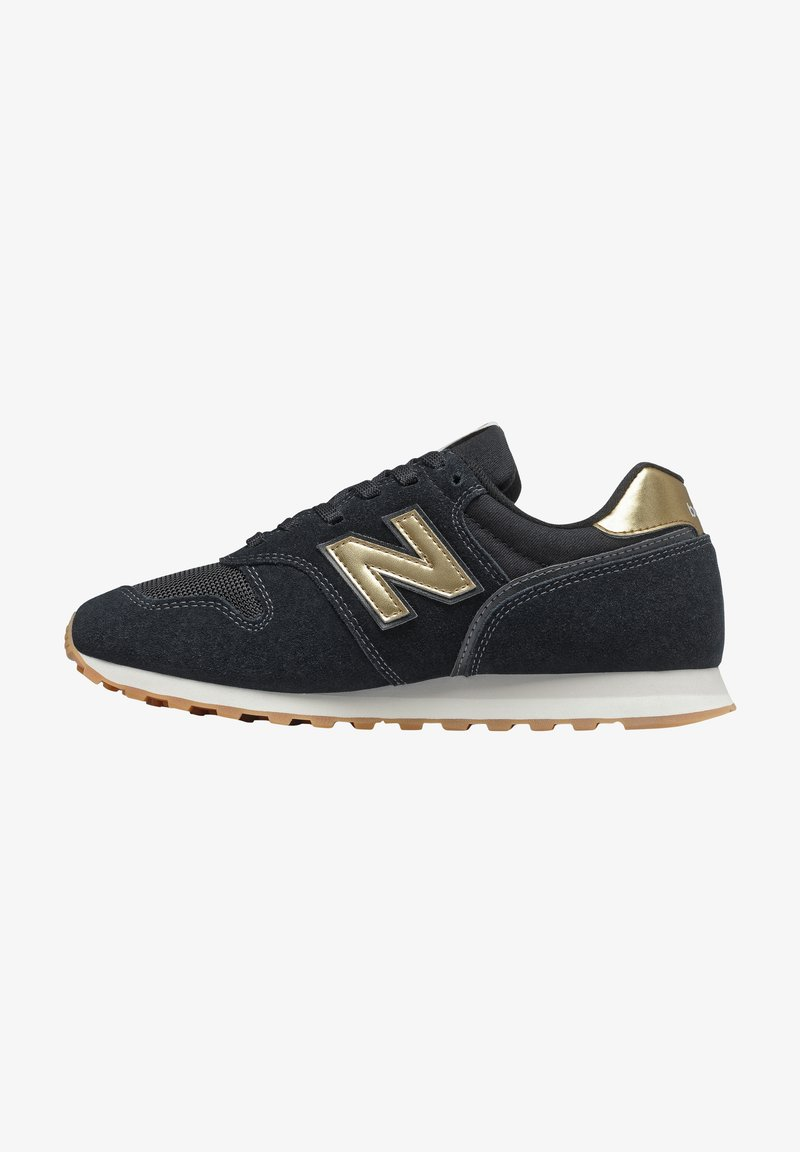 New Balance - Baskets basses - black/gold