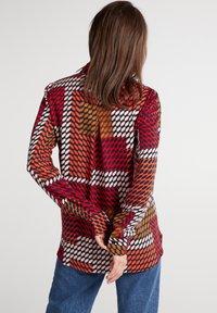 Eterna - Button-down blouse - rot/braun/rosa - 1