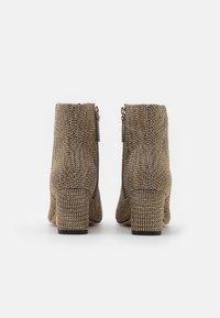 Kurt Geiger London - BURLINGTON - Ankle boots - beige - 3