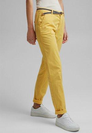 FLOW - Chinos - sunflower yellow