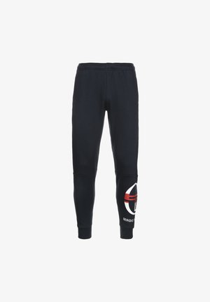ITZAL  - Tracksuit bottoms - navy / white / red
