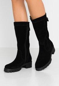 Jana - Platform boots - black - 0